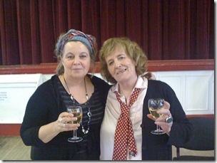 Writers Avril Joy and Wendy Robertson