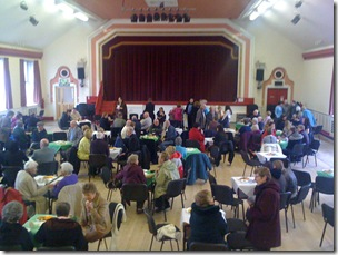 Inside the Easington Social Welfare Centre
